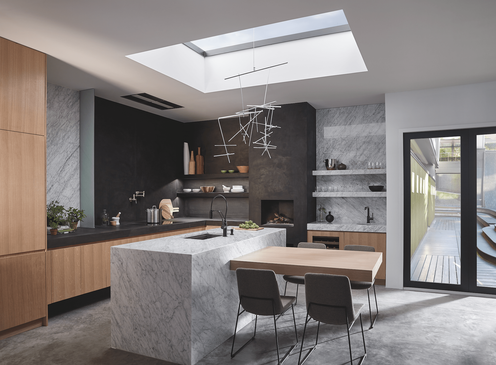 kitchen spaces black kitchen faucet The Solna kitchen faucet collection from Brizo features crisp lines and simple form inspired by contemporary Scandinavian furniture
