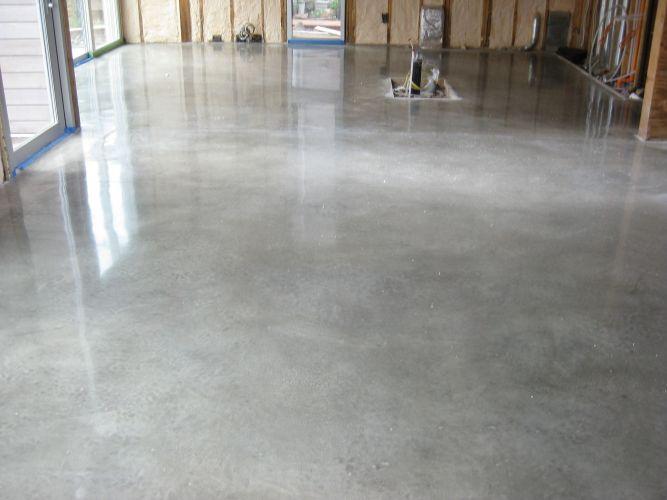 polished concrete flooring concrete kitchen floor Polished concrete floor almost a must in warehouse conversions Description from pinterest com