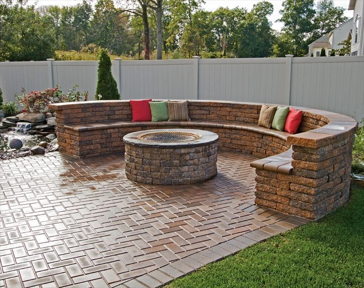 brick patio furniture download designs with fire pit the o