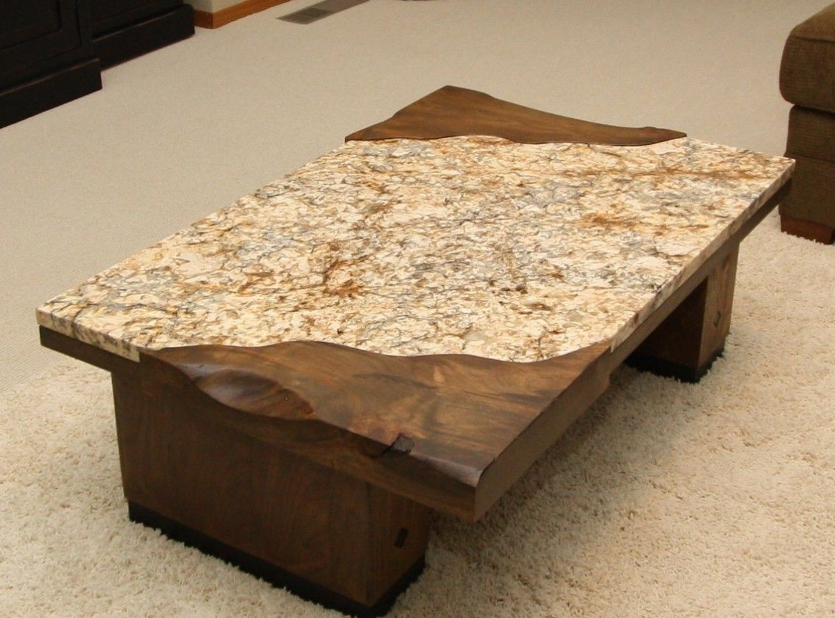 granite table granite top kitchen table Furniture Desired Granite Coffee Table With Rectangular Shape Can Be Inspiration For Your Minimalist Home