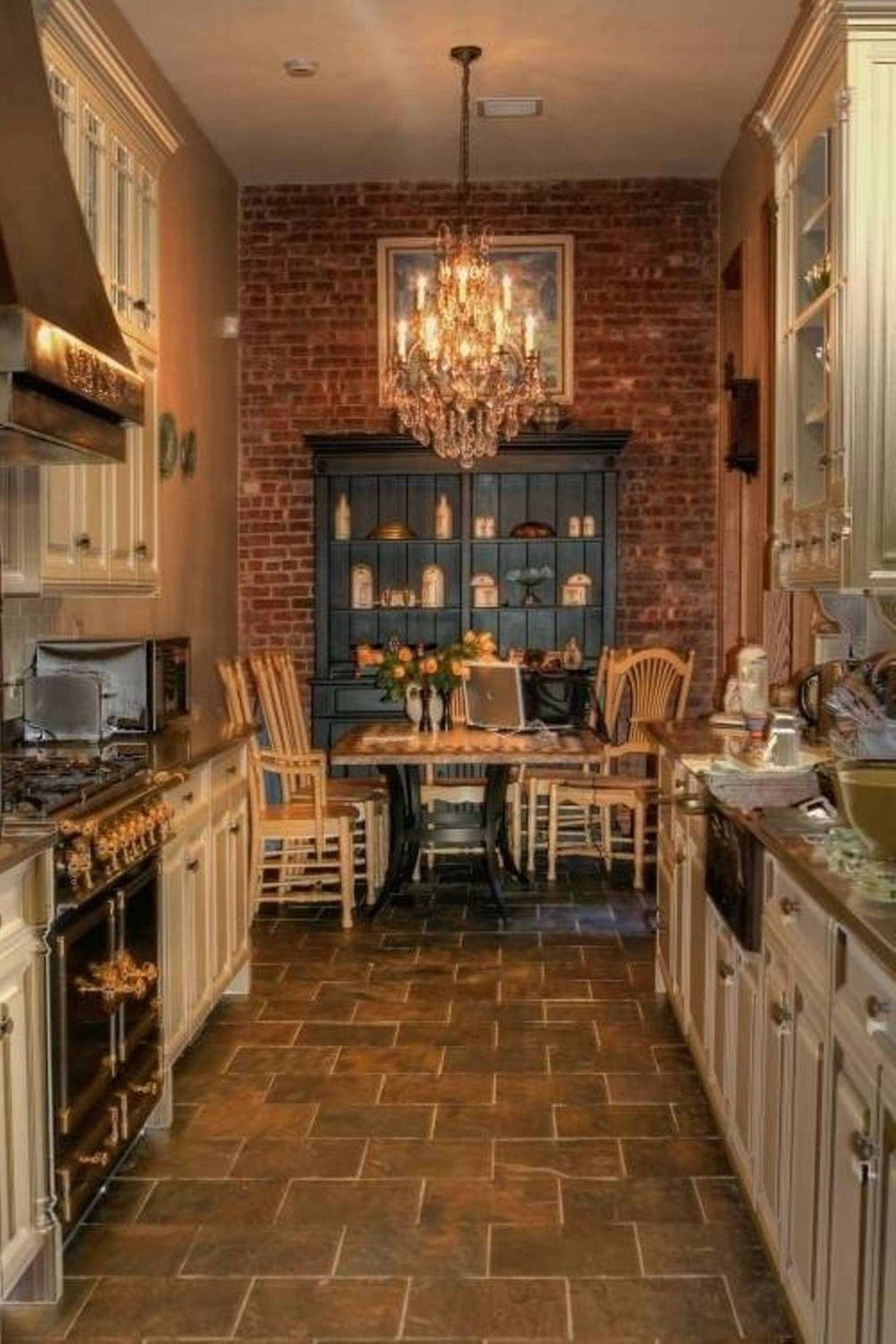 galley kitchen remodel ideas LOVE this kitchen Rustic Design Galley Kitchen Floor Plans Floor Ideas for Galley Kitchen