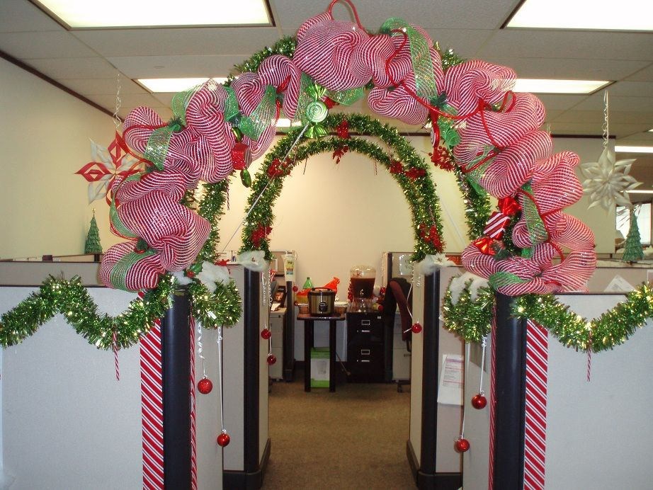 holiday cubicle contest decorationscubicle ideasthe cubicleoffice cubiclesoffice deskschristmas office decorations for christmas e