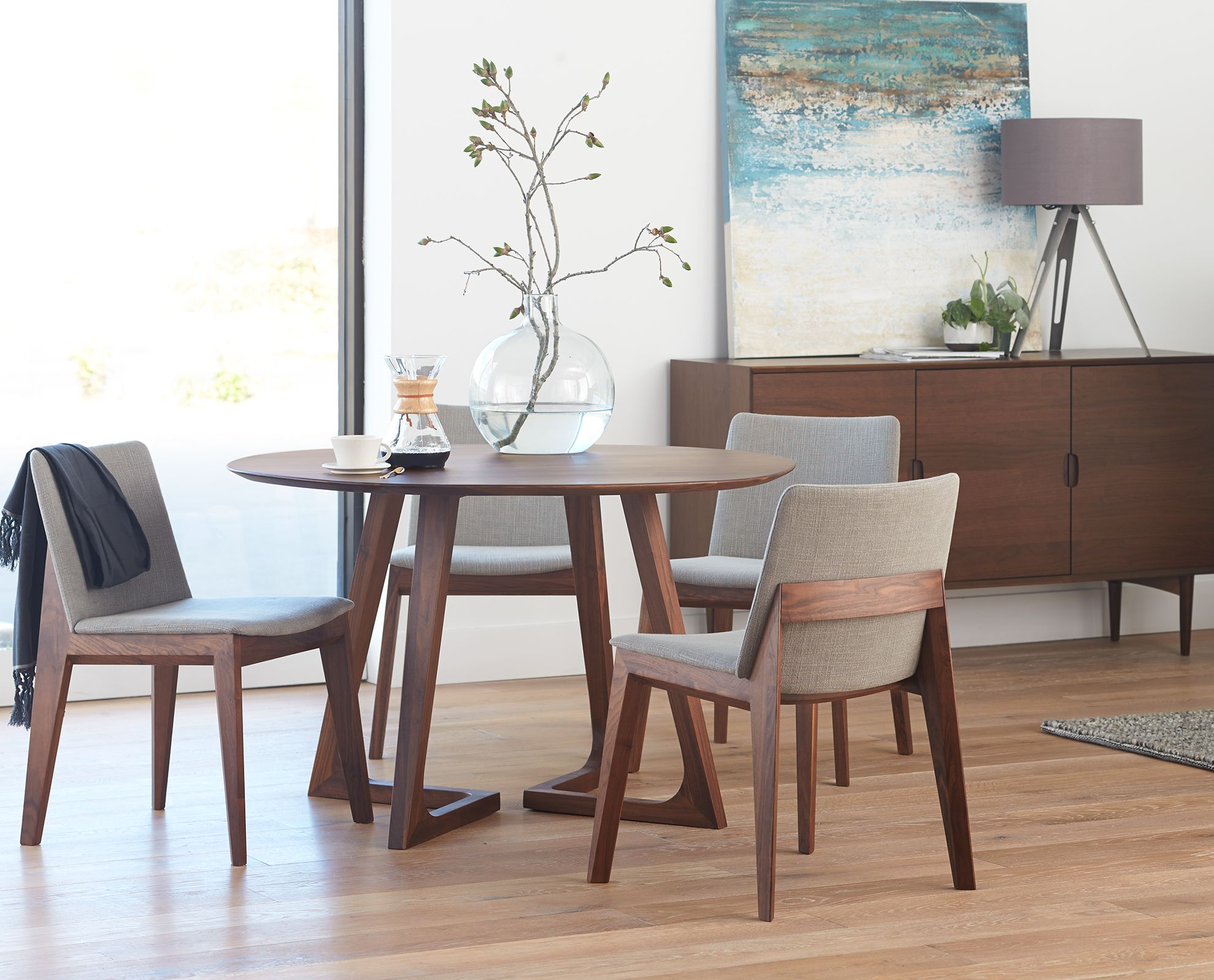 two seat kitchen table Round table and chairs from Dania