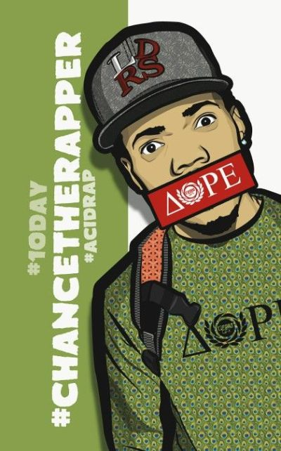 Chance the rapper graphic phone wallpaper for iphone | Chance The Rapper ??..IGH! | Pinterest ...