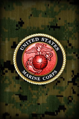 United States Marine Corps iPhone Wallpapers | Military | Pinterest | Marine corps, Marines and USMC