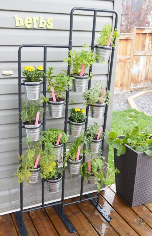 Medium Of Diy Herb Gardens