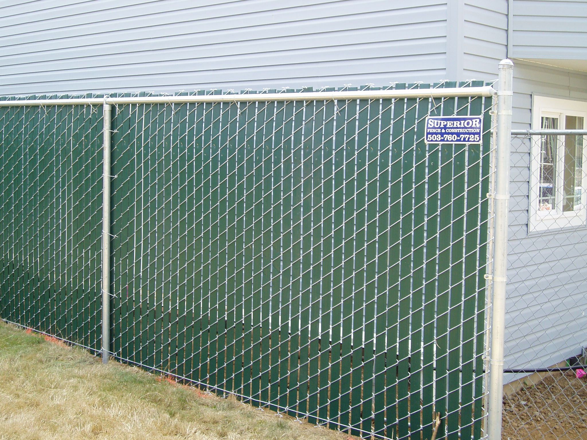 Exellent Chain Link Fence Slats Sold For Decorating