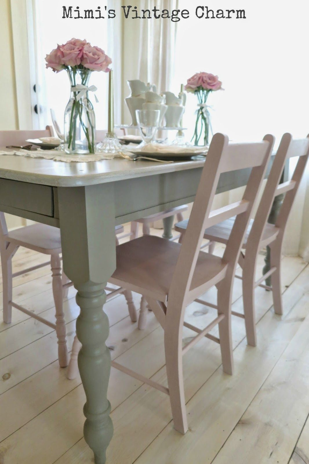 kitchen tables and more Antoinette Dining Room Chairs French Linen Table
