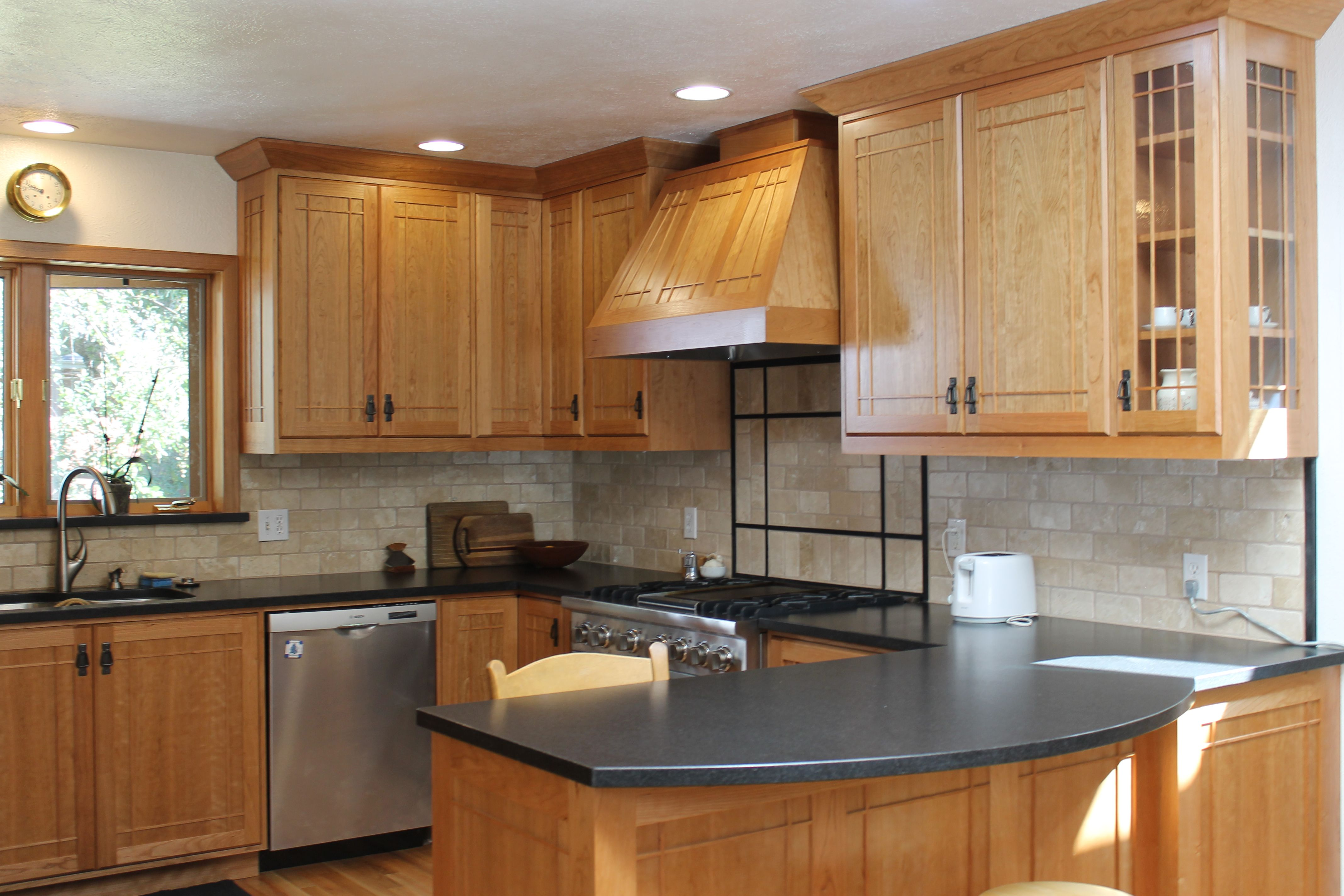 light kitchen cabinets Wood kitchen cabinets