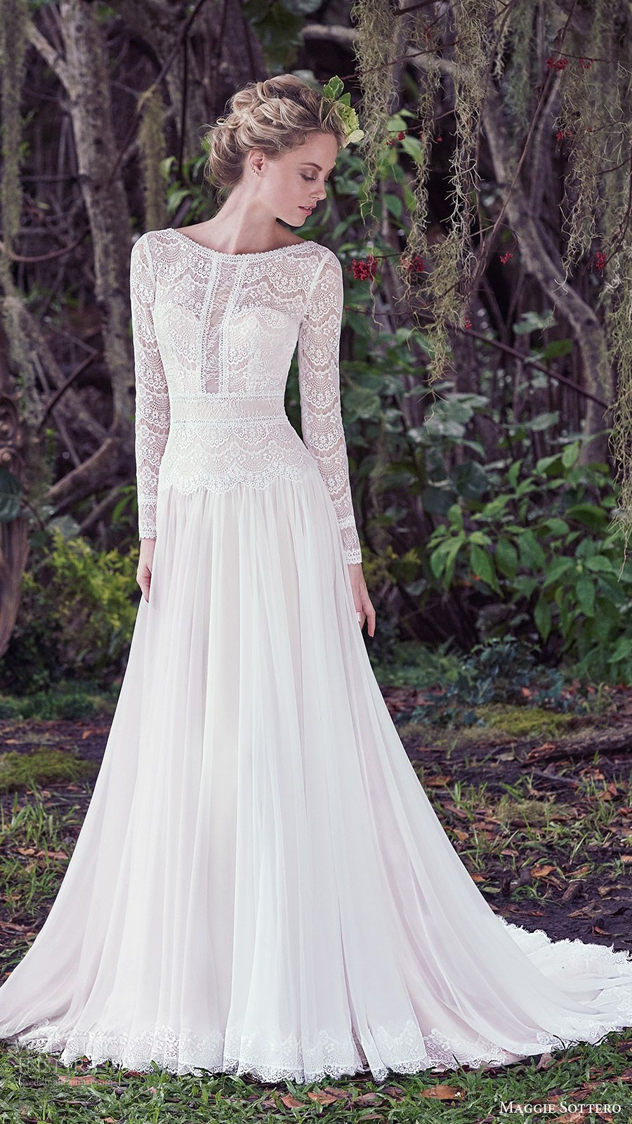 wedding dresses for fall Maggie Sottero Fall Wedding Dresses Lisette Bridal Collection Highlights