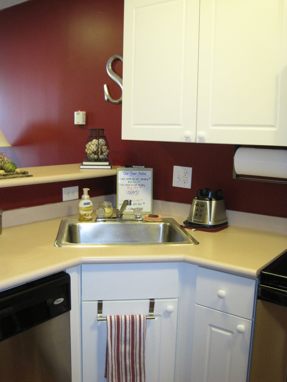 corner sink kitchen MODERN SMALL CORNER KITCHEN SINK DESIGN Interior Images