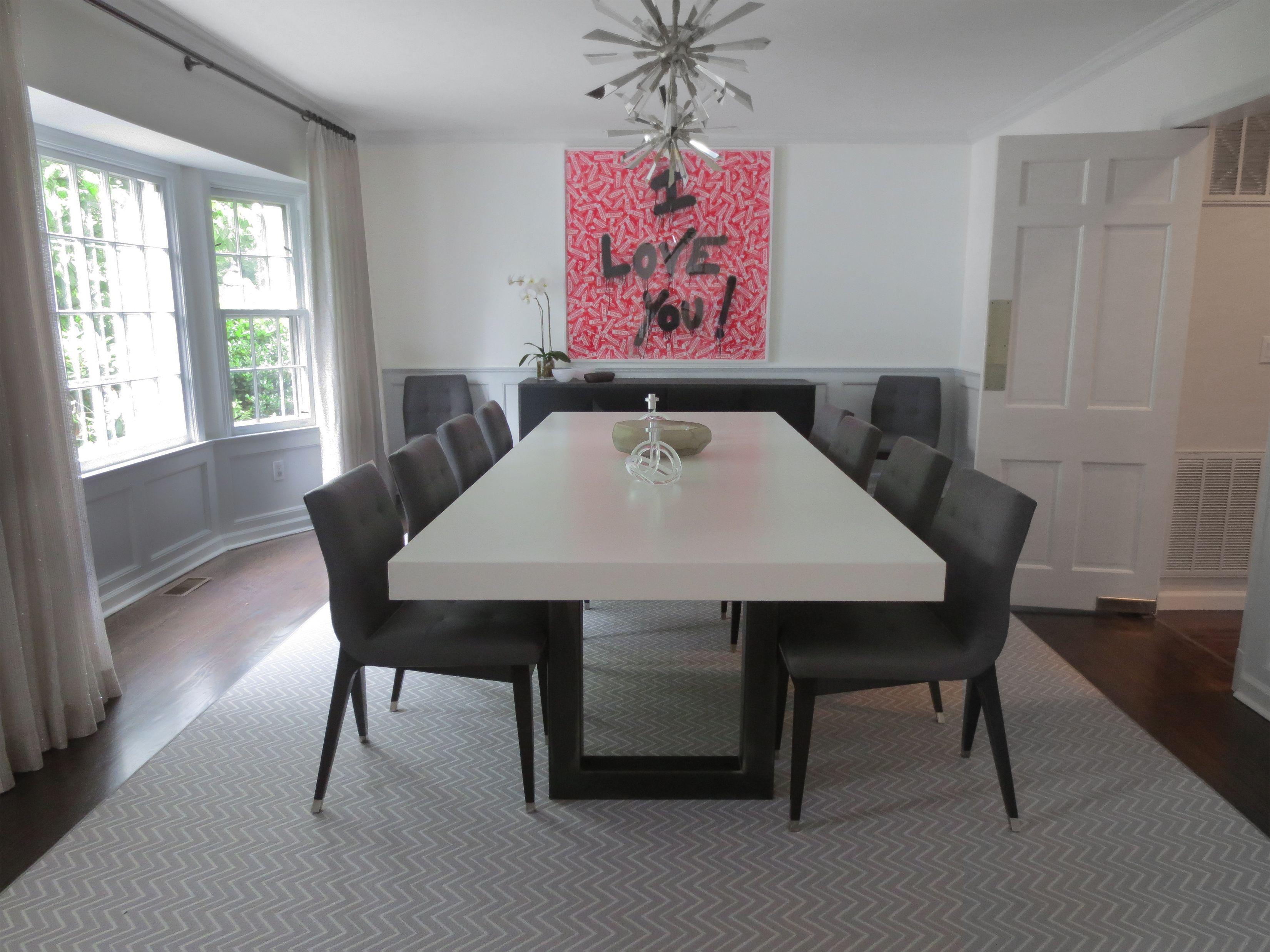 custom concrete kitchen dining tables trueform con concrete kitchen table White Concrete Zen Dining Table by Trueform Concrete