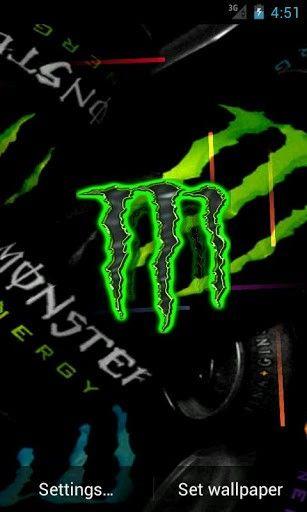 Monster Energy Live Wallpaper App for Android   Monster Energy   Pinterest