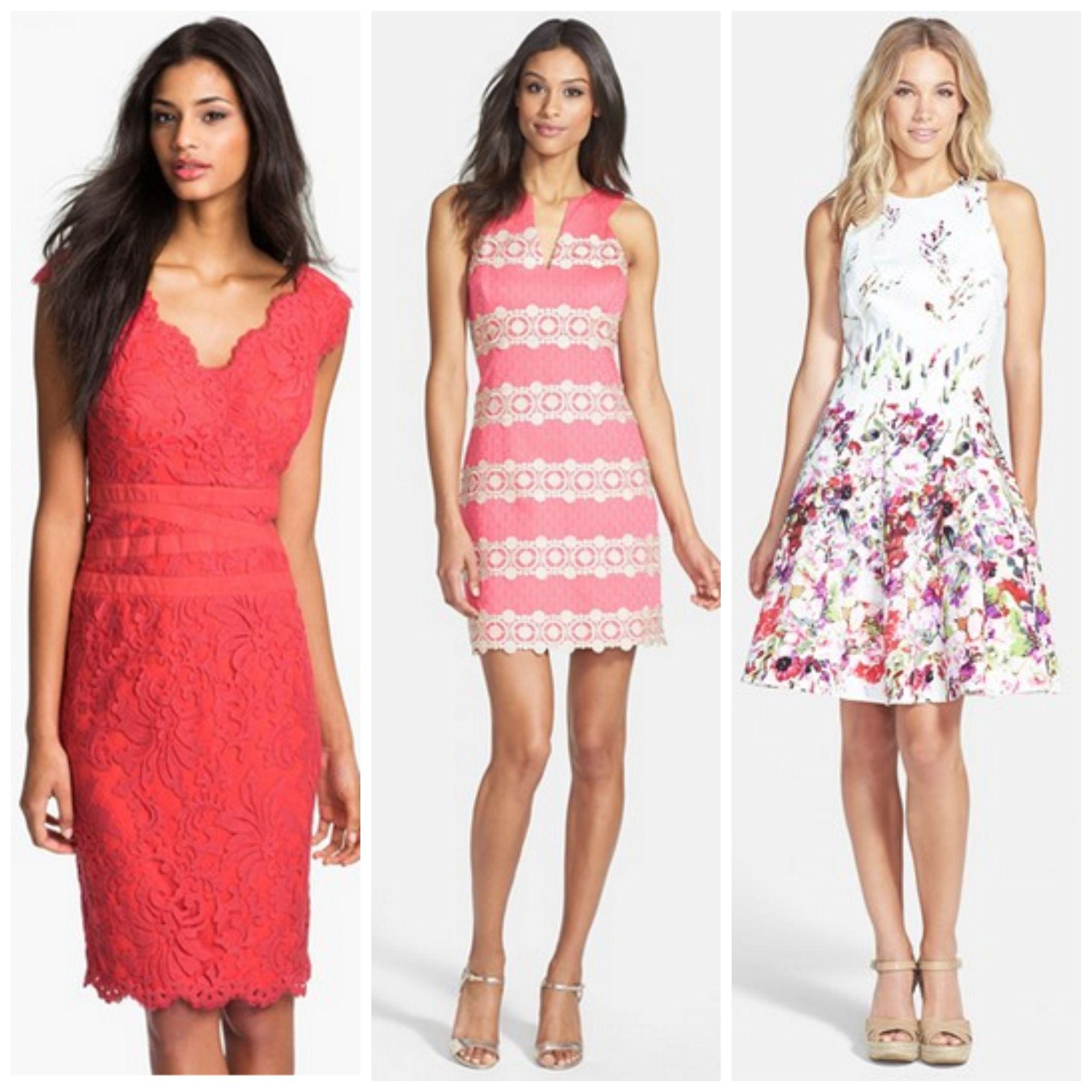 dresses for summer wedding Daytime Semi Formal Wedding Guest Attire Events Outfits Summer Wedding Guest DressesSummer