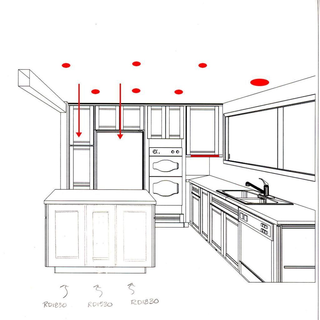 recessed lighting in kitchen recessed lighting kitchen layout Google Search