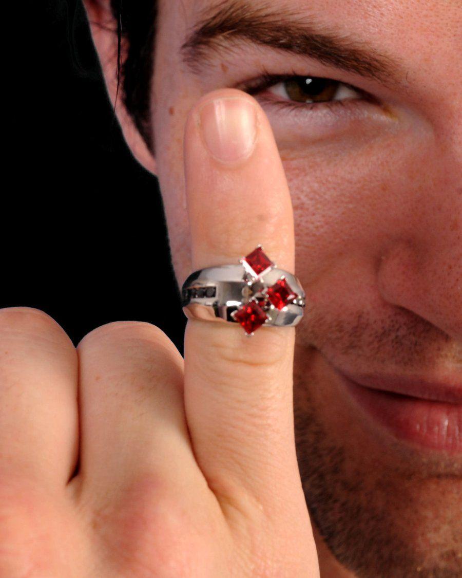 deadpool wedding ring Harley Quinn Engagement Ring by darkmoonchild deviantart com
