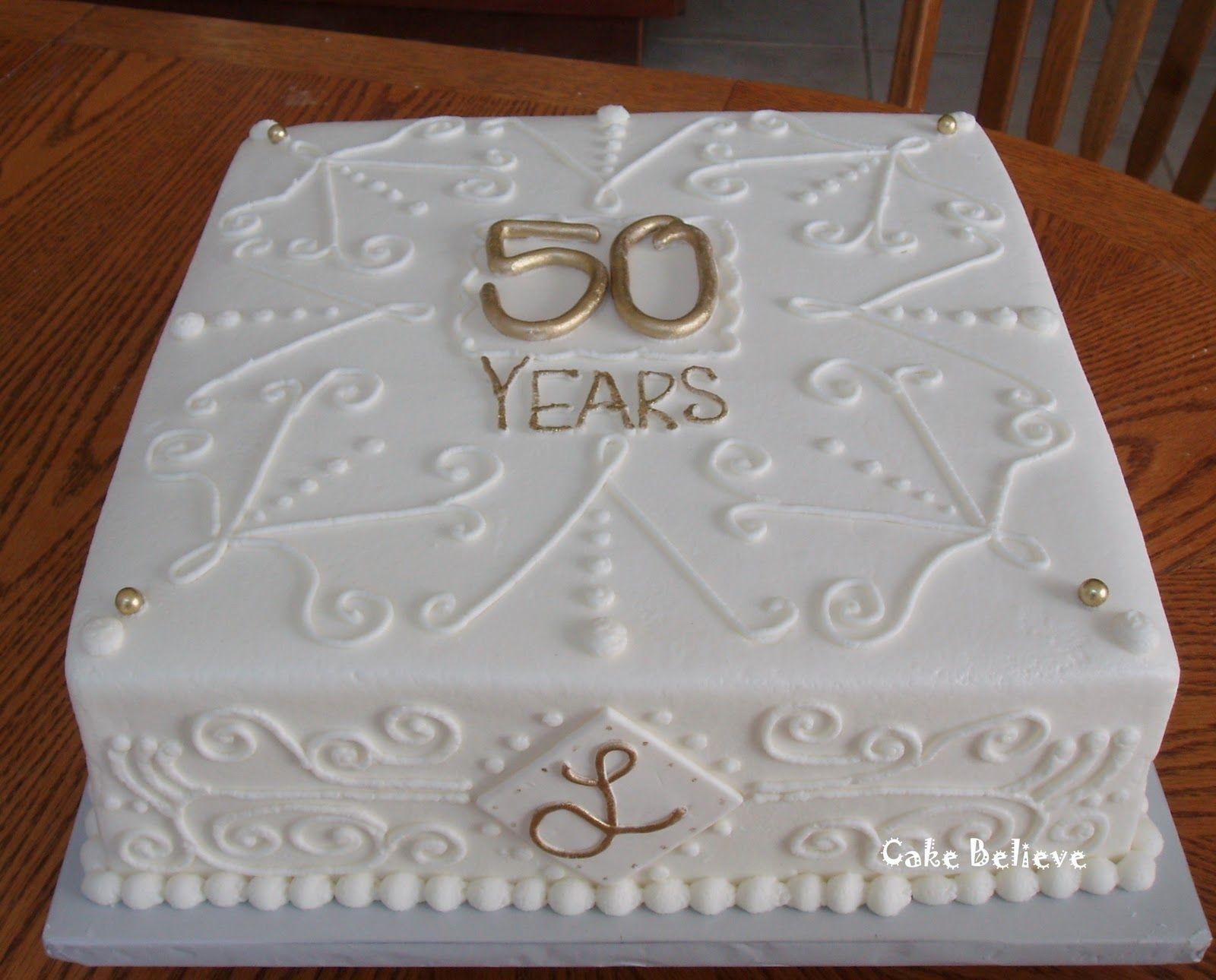 50th wedding anniversary 50th Wedding Anniversary Cakes