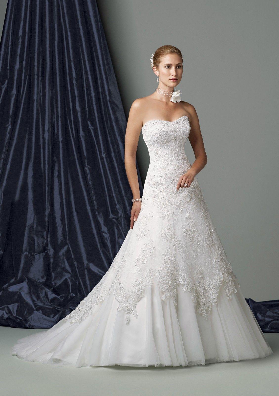 strapless lace wedding dress Strapless Wedding Dresses Are The Bride s 1 Dress Choice StyleKuw