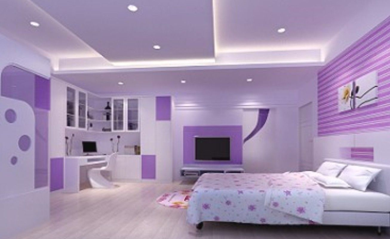 Simple Bedroom For Women Bedroom Inviting Design Of Purple Pink Interior For Women Ideas
