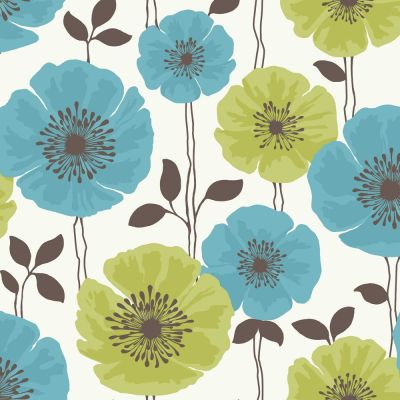 Teal and Pink Flower Backgrounds   ... Fine Decor ‹ View All Wallpaper ‹ View All Fine Decor ...