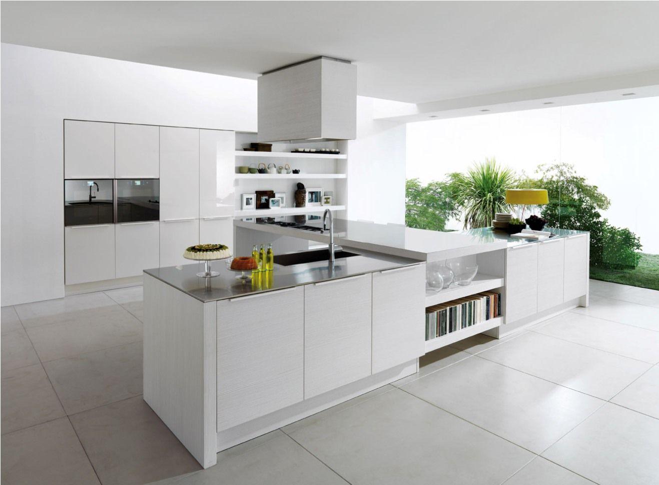 modern white kitchen design white kitchen ideas Modern White Kitchen Design