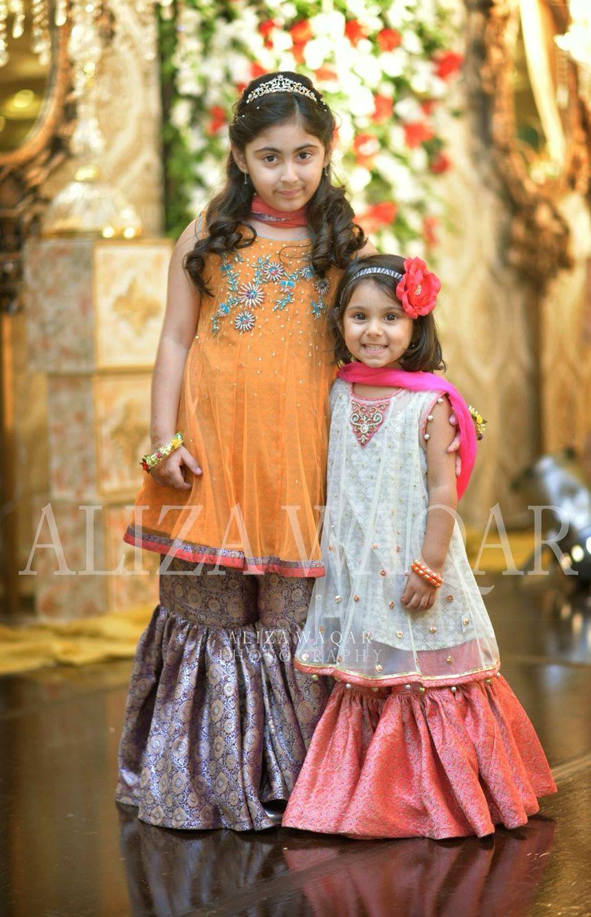kids wedding dresses Pakistani Weddings