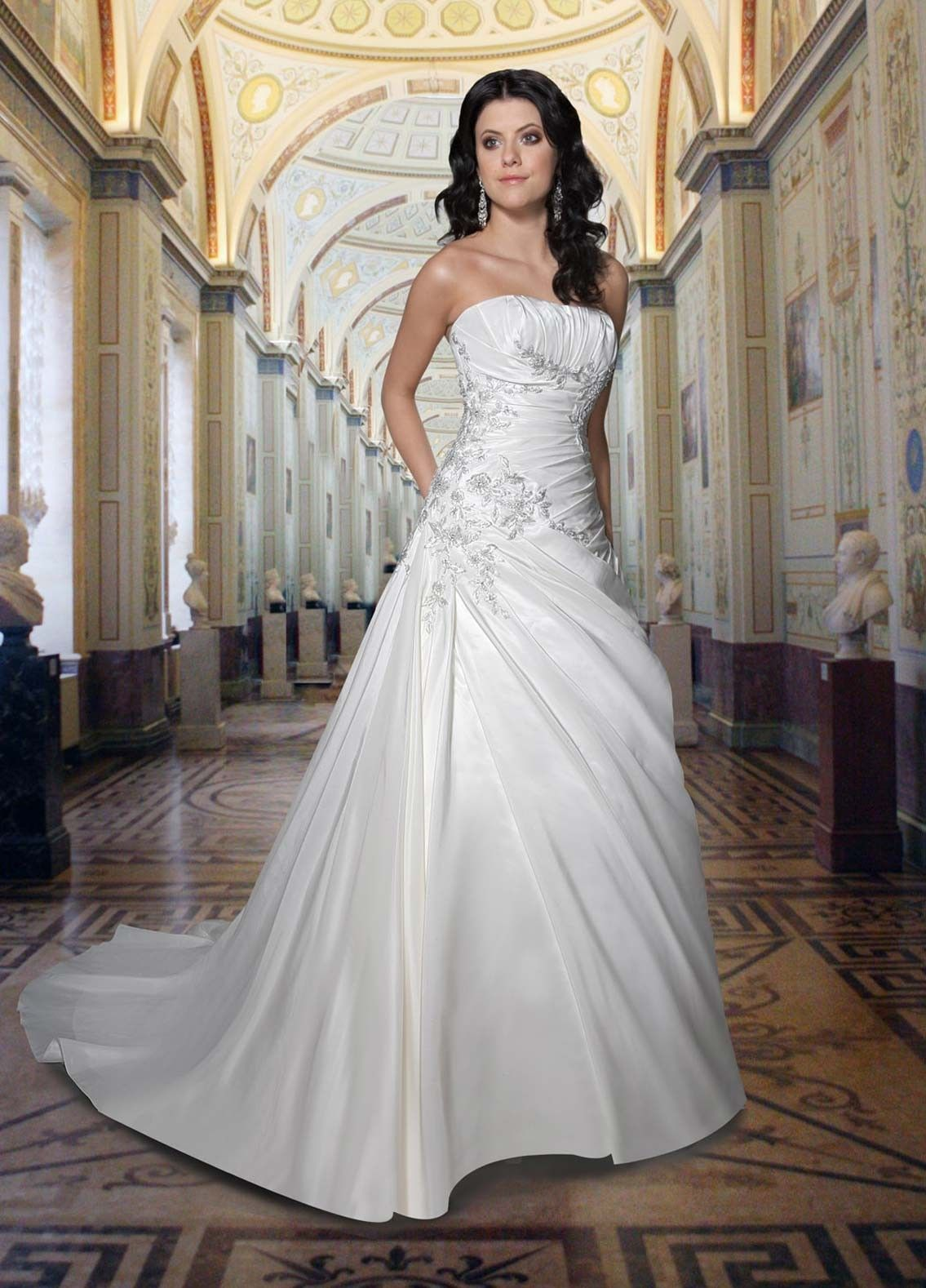 wedding dresses strapless 7 Sexy Strapless Wedding Dresses for Your Classic