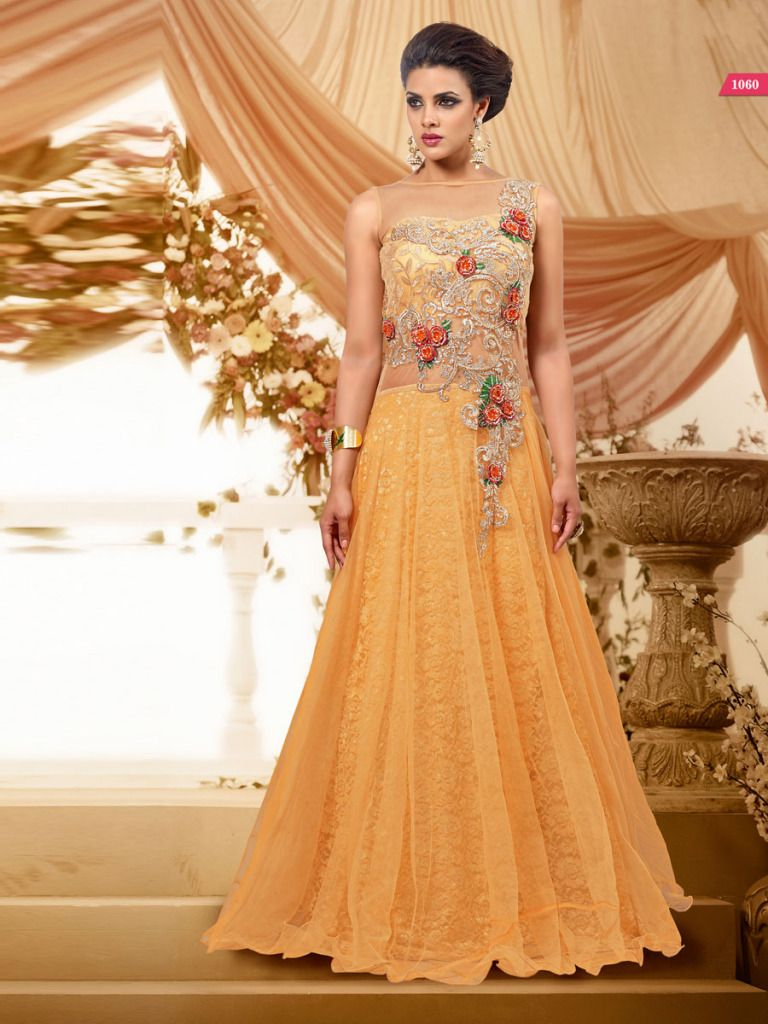 online wedding dresses Long dress indian style 67