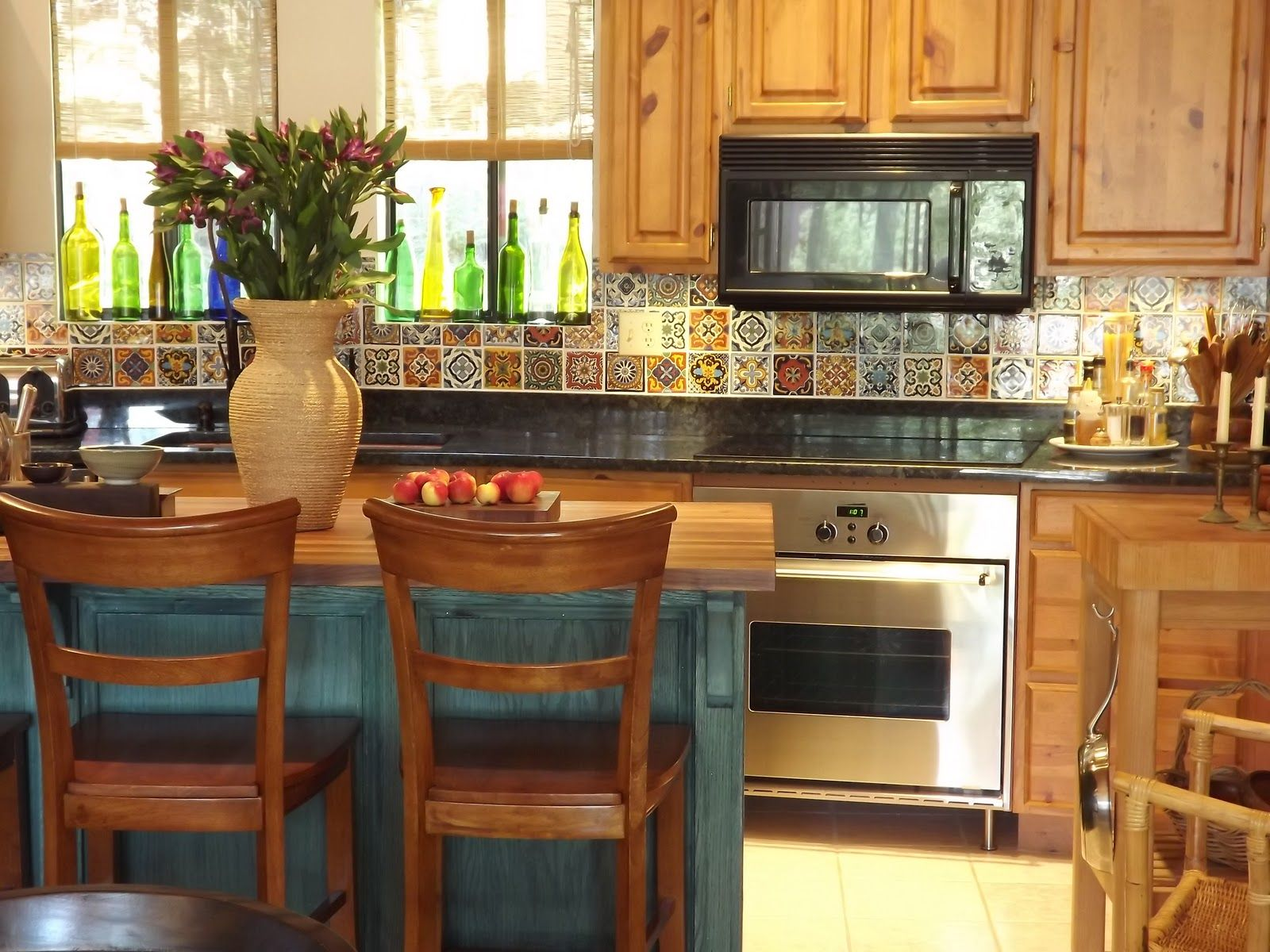 my spanish style bungalow kitchen cabinets in spanish Creative Spanish Kitchen Backsplash for Your DIY Home Project