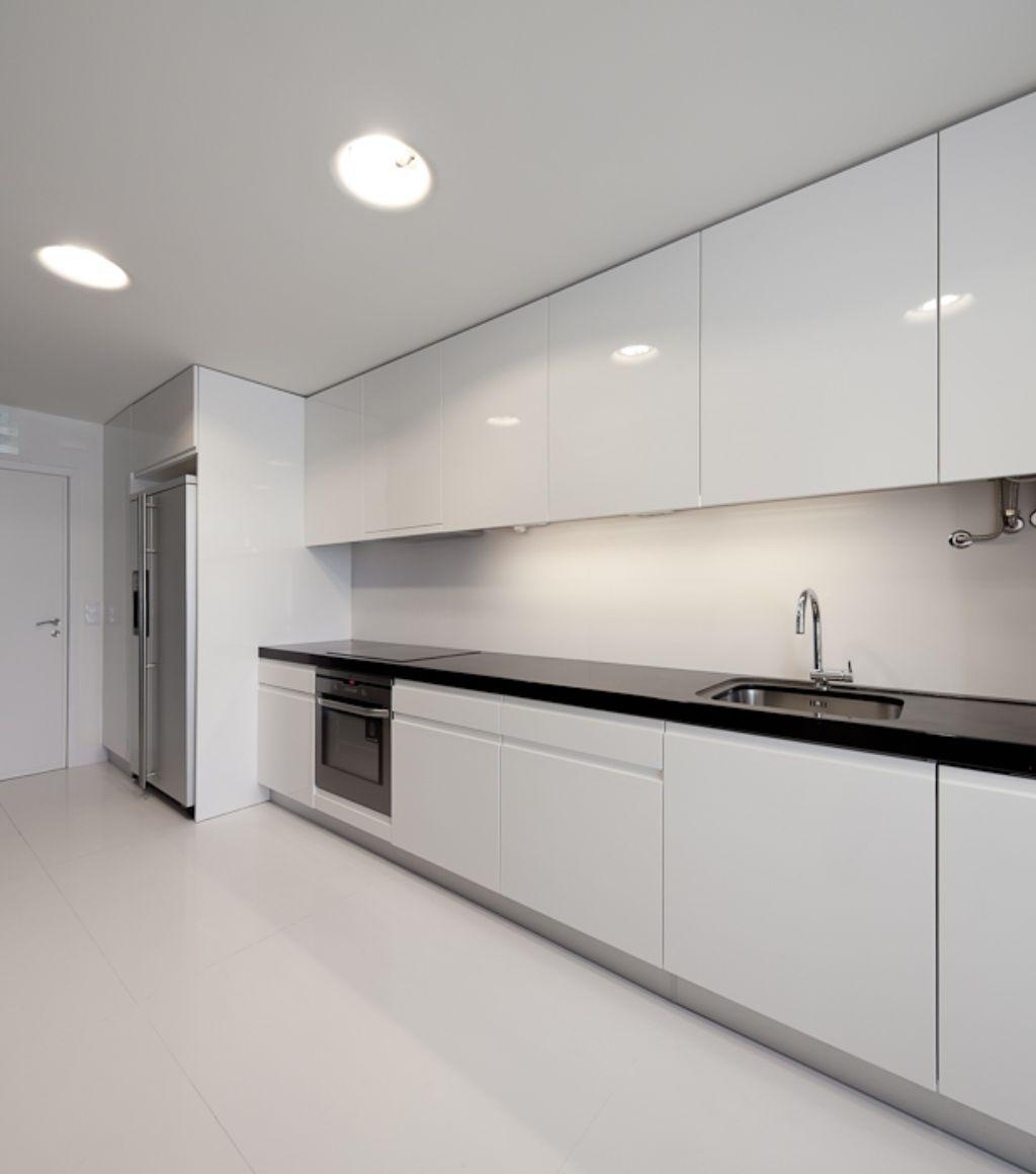 cheap white kitchen cabinets 30 Contemporary White Kitchens Ideas