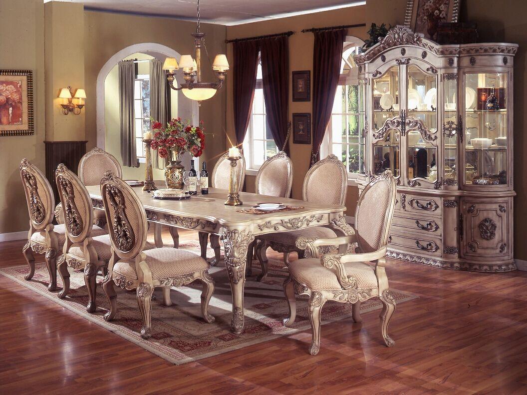 wood kitchen table sets A M B Furniture Design Dining room furniture Dining table sets
