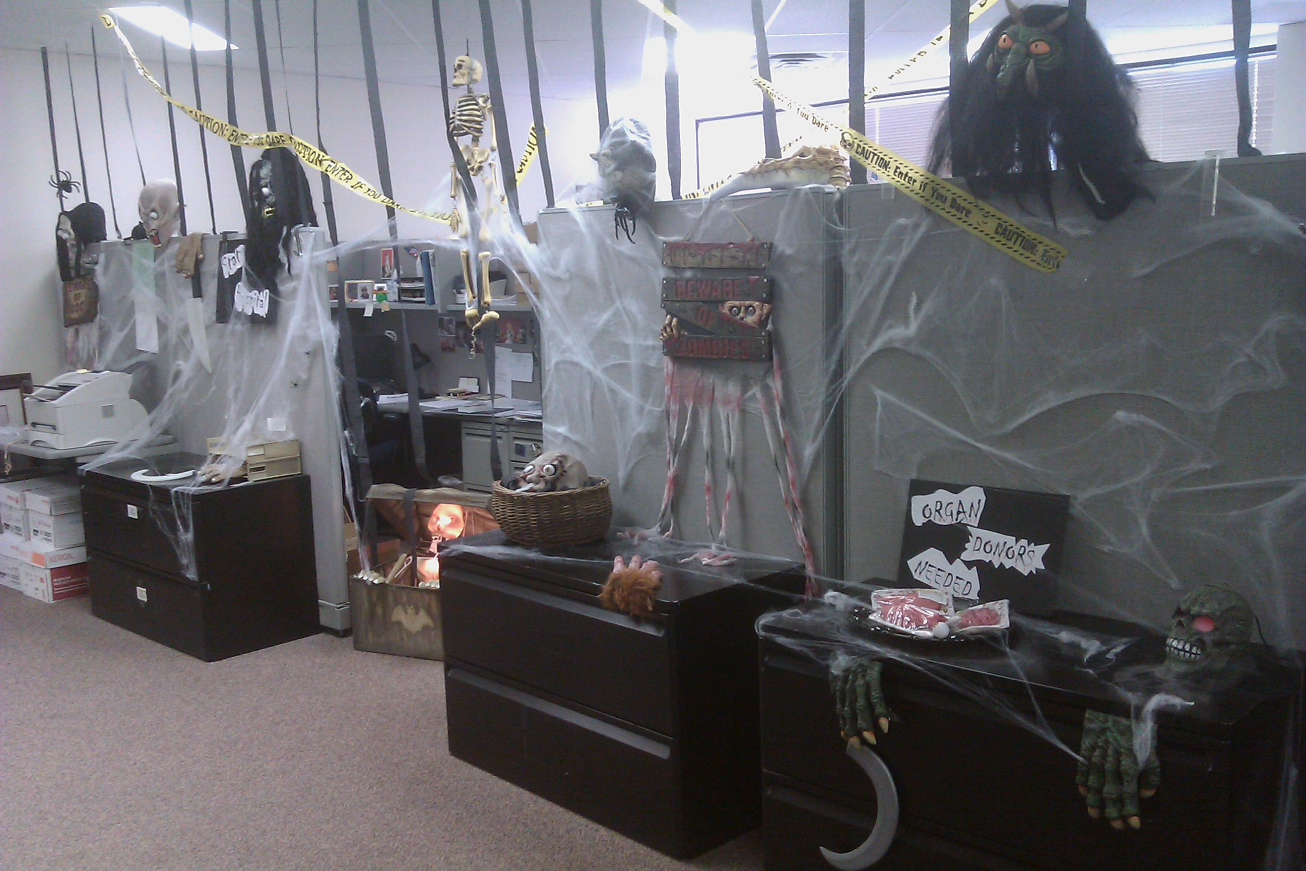 Office halloween decorations ideas - Images For U0026gt Halloween Office Themes Gothic Theme Pinterest Decor The Office And Decorations W