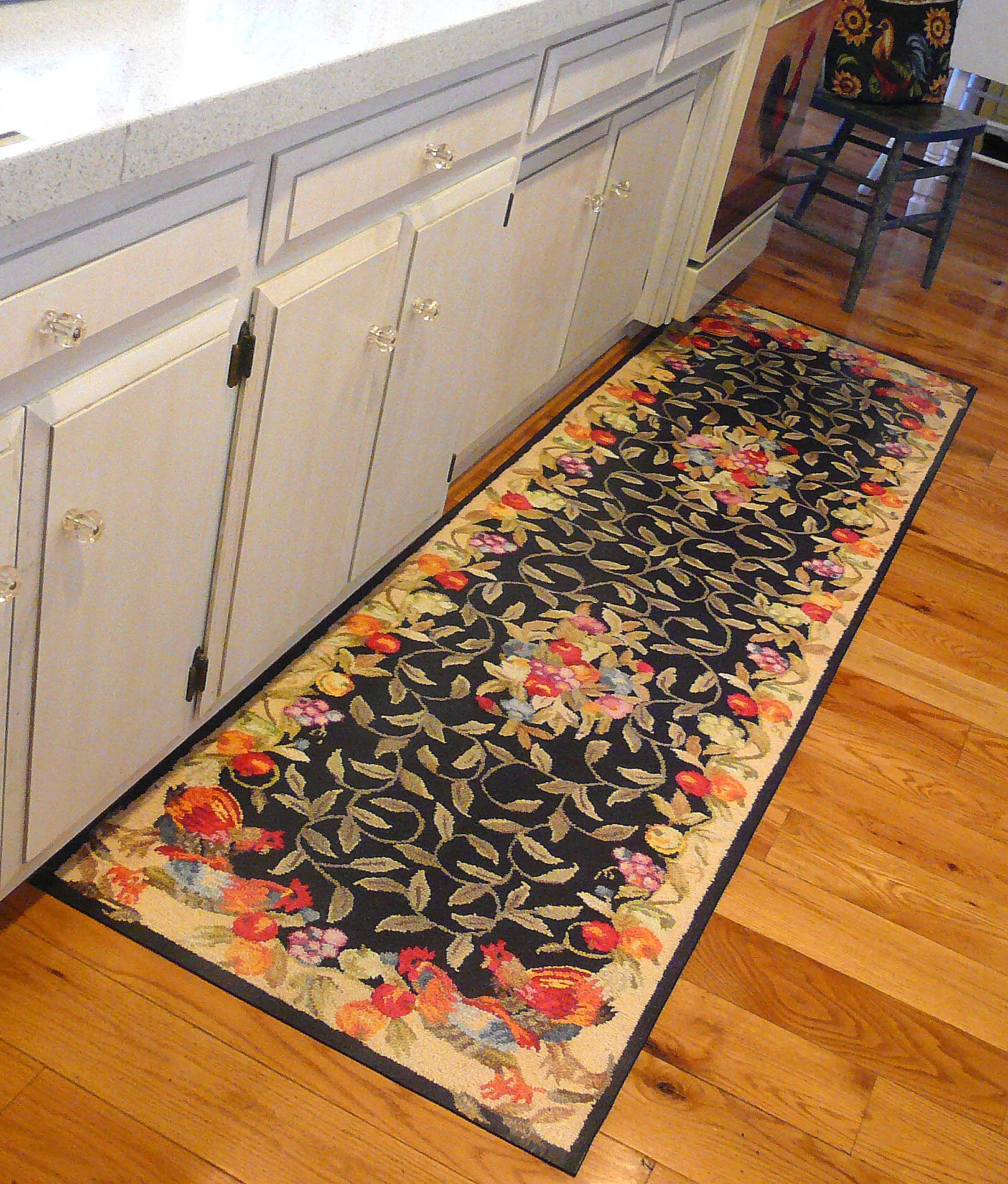 kitchen floor mat Custom Made Floor Mats this is not a rug it s a painted floor mat