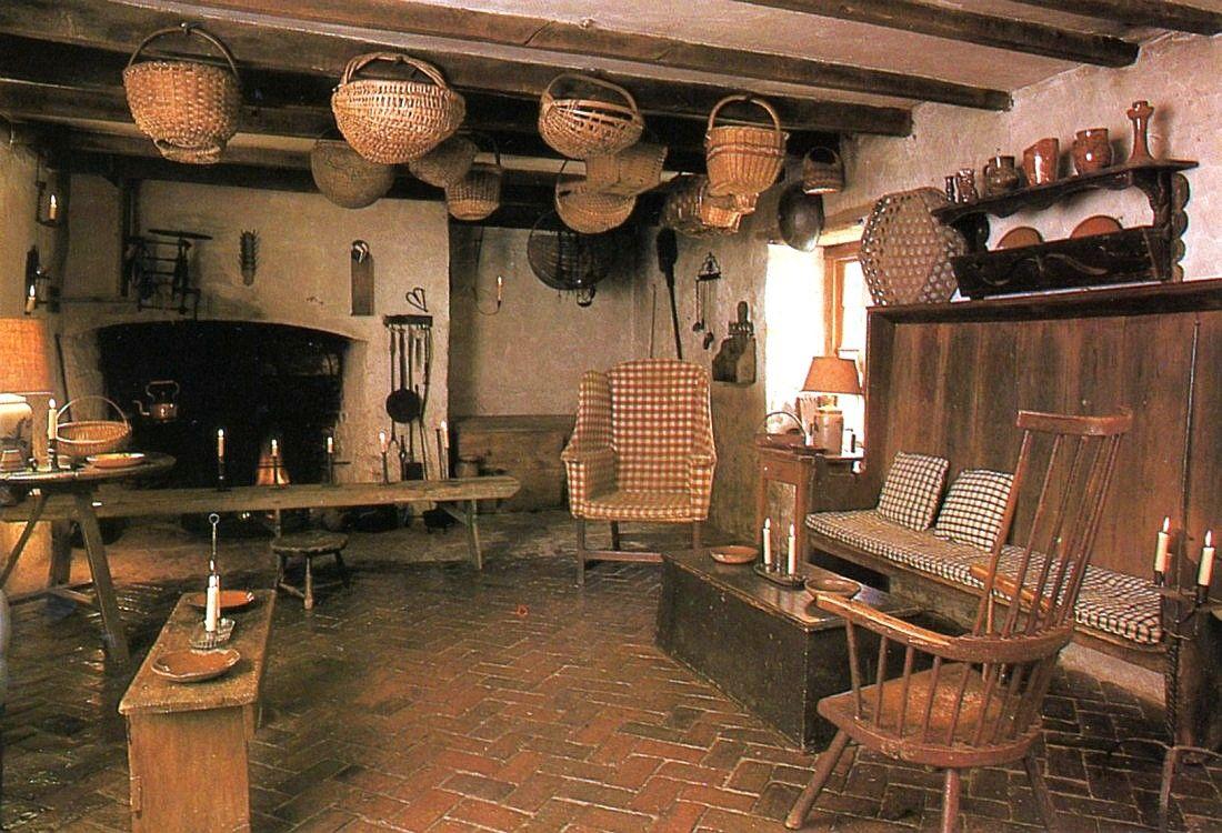 colonial kitchen sink 18th century farmhouse kitchen