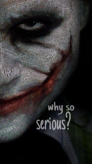 Joker. iPhone wallpaper | Wallpapers | Pinterest | iPhone wallpapers, The joker and Why so serious