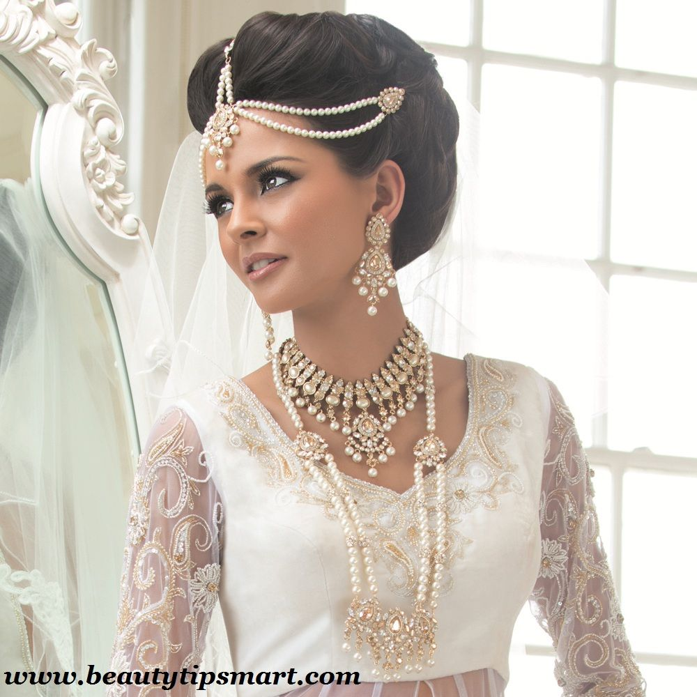 wedding jewelry sets Pearl Wedding Jewelry Sets For Indian Brides Designs