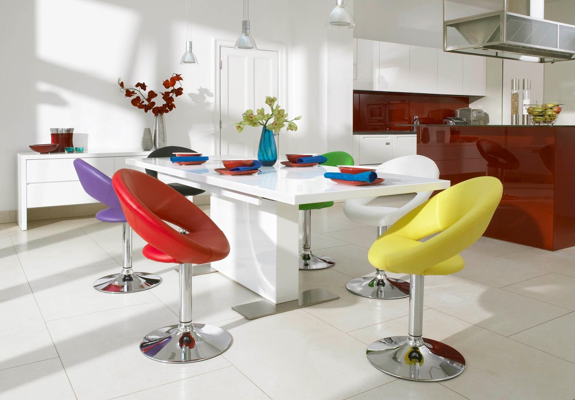 swivel kitchen chairs Plump swivel chair Tank Dining Tables Chairs Dining Room Furniture Furniture Village