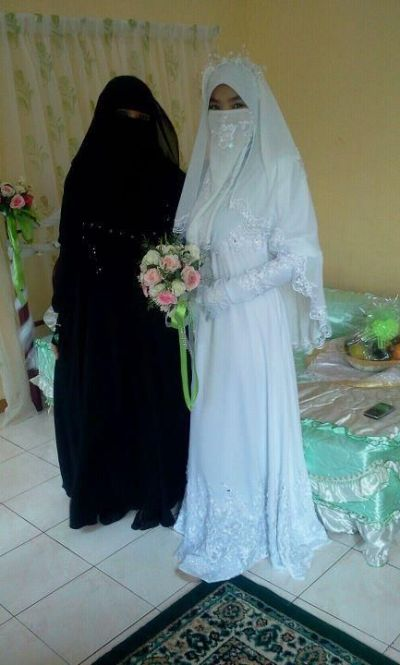 Niqab wedding | Niqab wedding | Pinterest | Niqab, Hijab ...