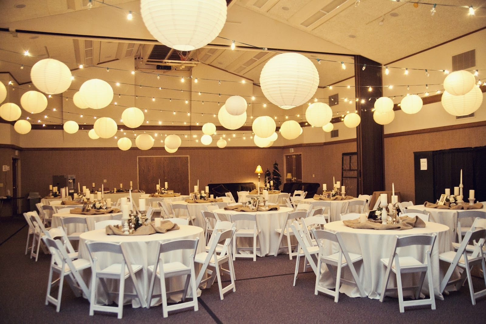 wedding decoration Reception Ceiling Idea Decorating with EXTREMELY high ceilings Help The Knot