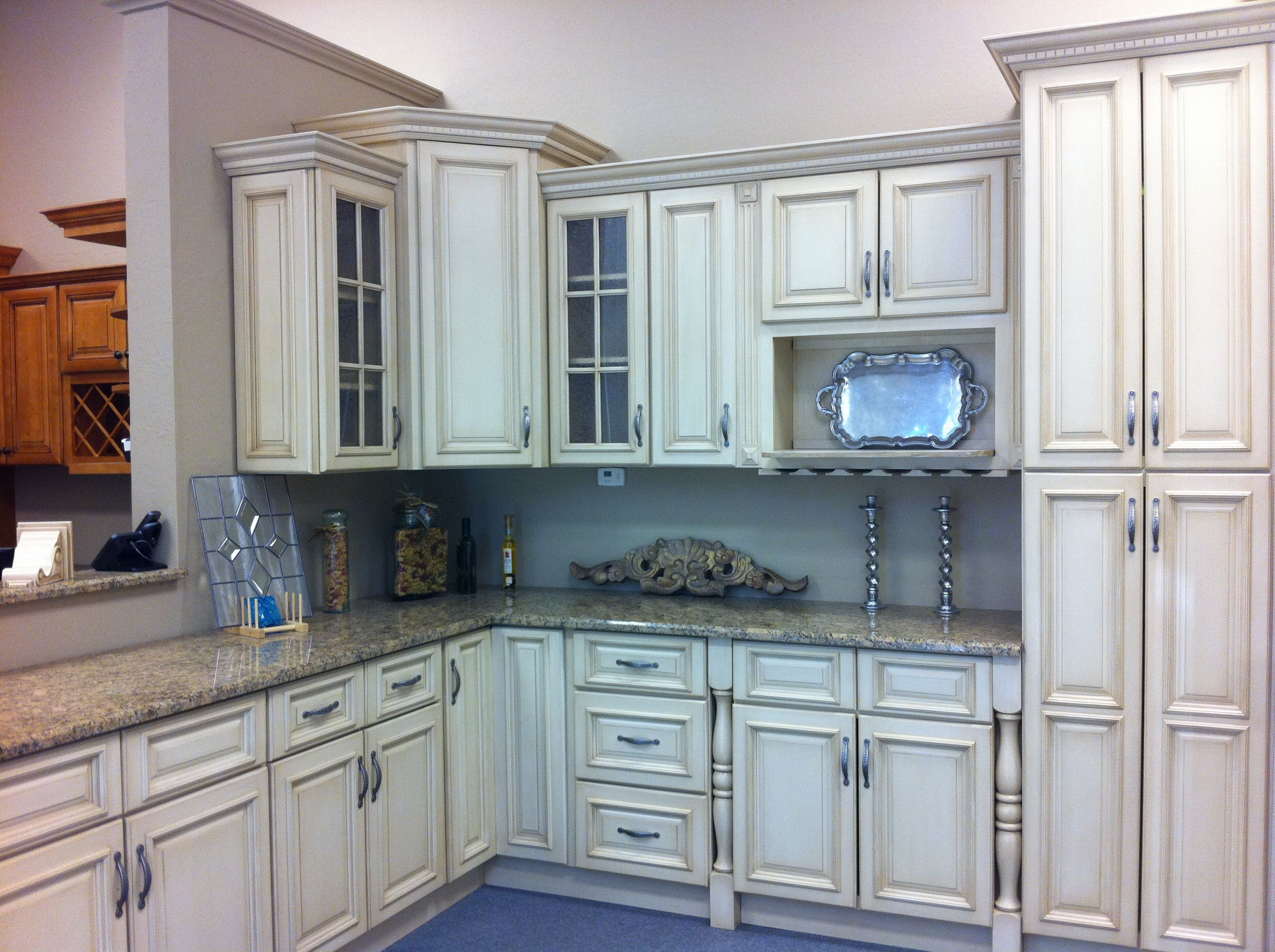 cream and grey kitchen grey kitchen cabinets Vintage Cream Cabinets For Kitchen Cabinetry Set Polished And Grey