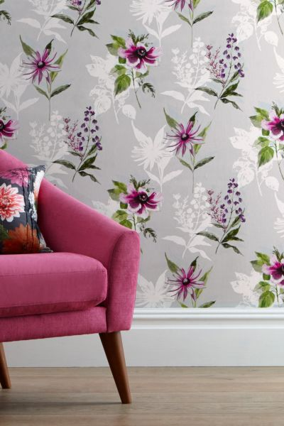 Buy Vibrant Floral Paste The Wall Wallpaper from the Next UK online shop | wallpaper | Pinterest ...