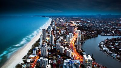 Golden City Coast HD 1080p Wallpapers Download | 1 | Pinterest | Mobile phones, Nature and ...