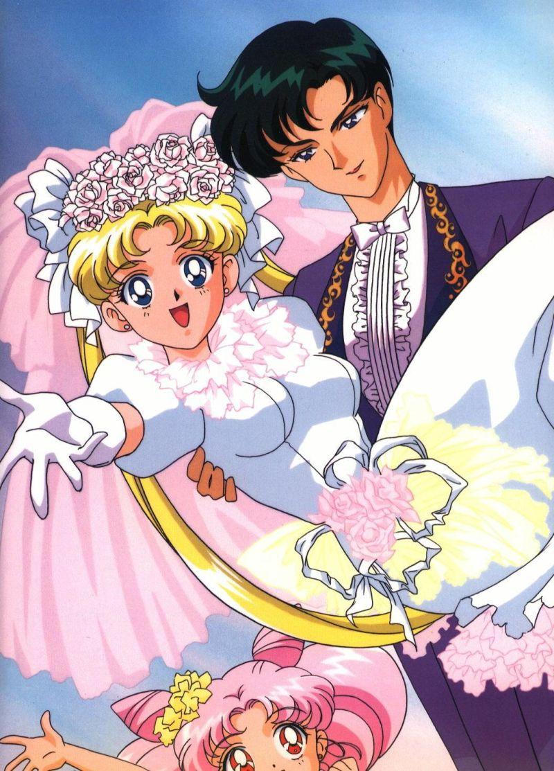 Large Of Sailor Moon Wedding