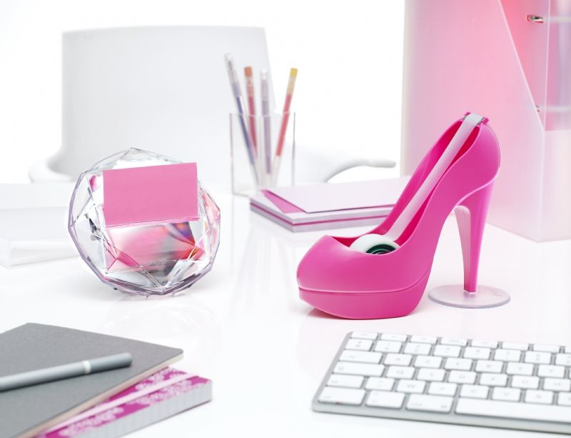 girly office perfect pink decor for the fashionista love hot high feminine accessories i