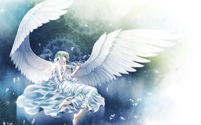 Anime - Angel Wallpaper | Angels | Pinterest | Anime angel, Angel wallpaper and Anime