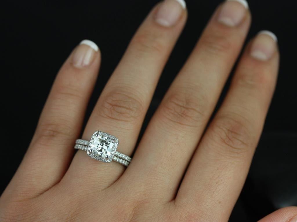 diamonds wedding set Top 25 ideas about Diamonds on Pinterest Wedding ring Halo wedding set and White gold