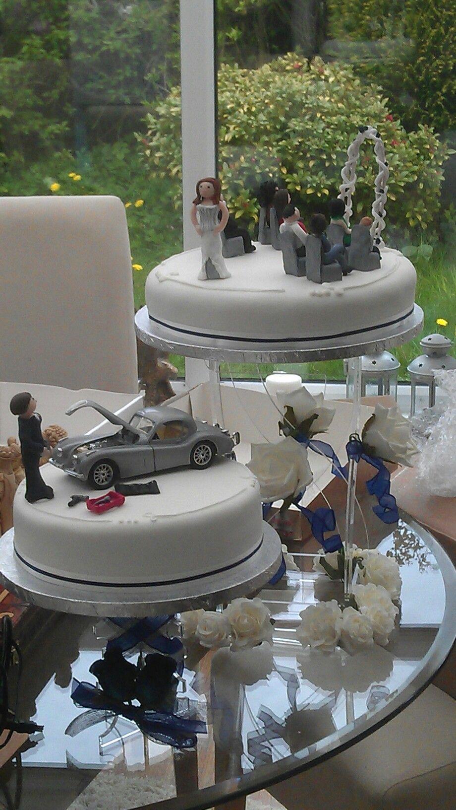 mechanic wedding ring My wedding cake