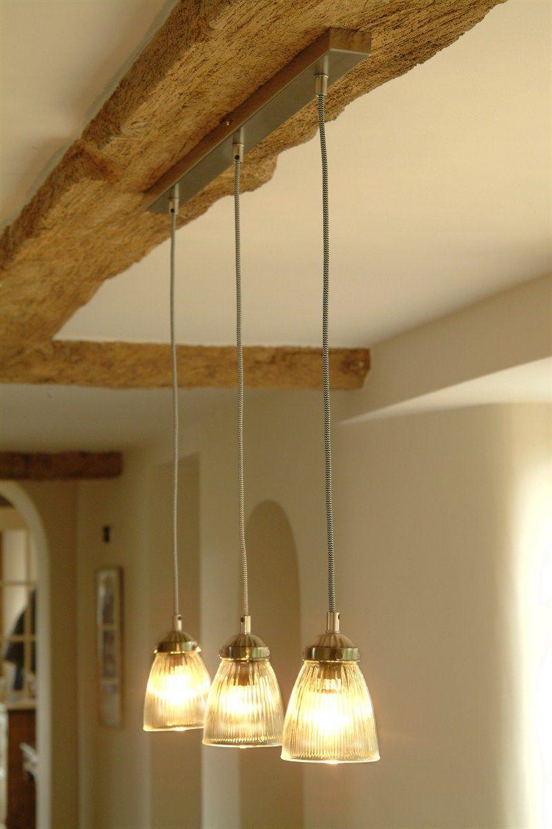 kitchen ceiling lights Trio Set of Paris kitchen ceiling lights at Garden Trading