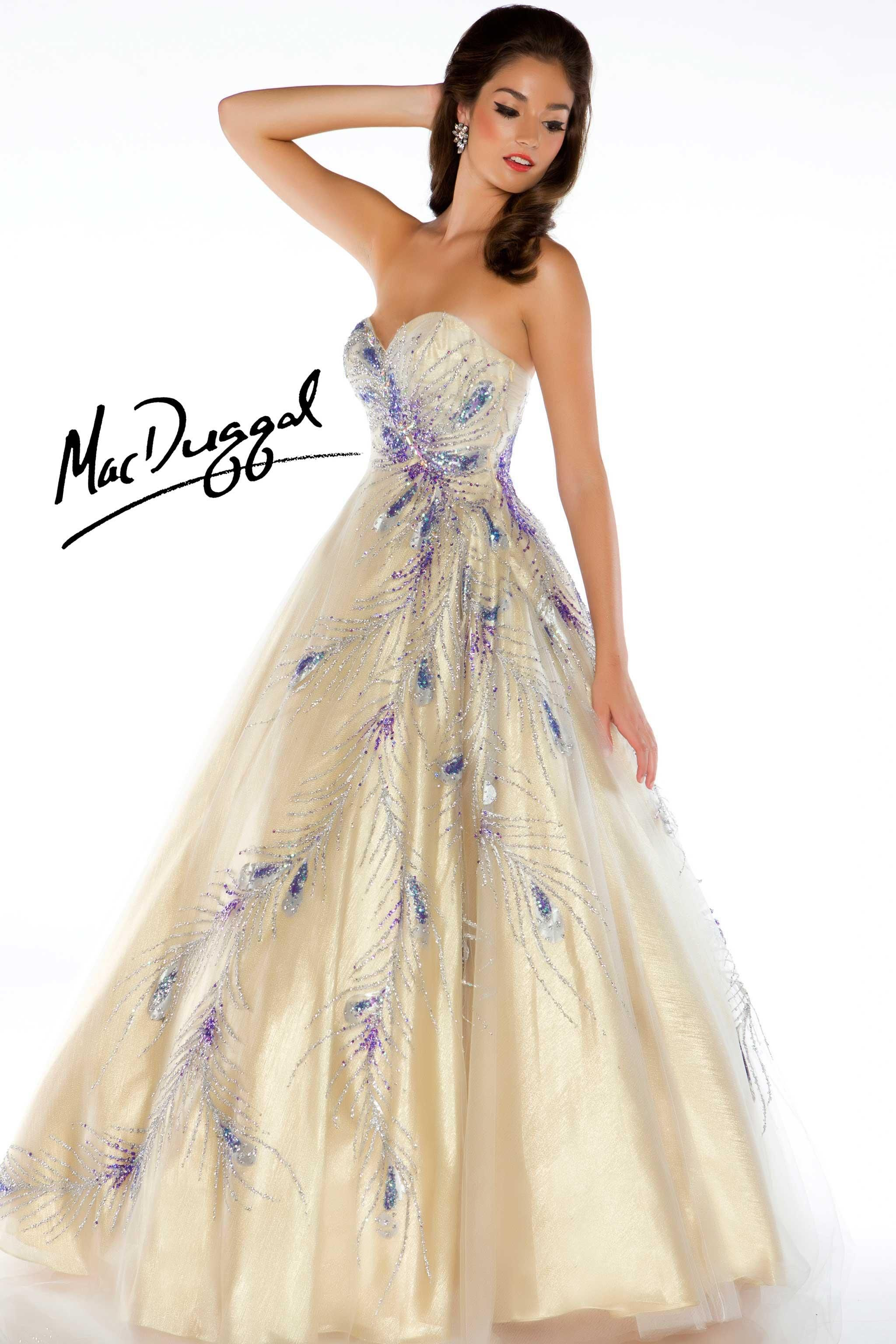 Fullsize Of Peacock Wedding Dress