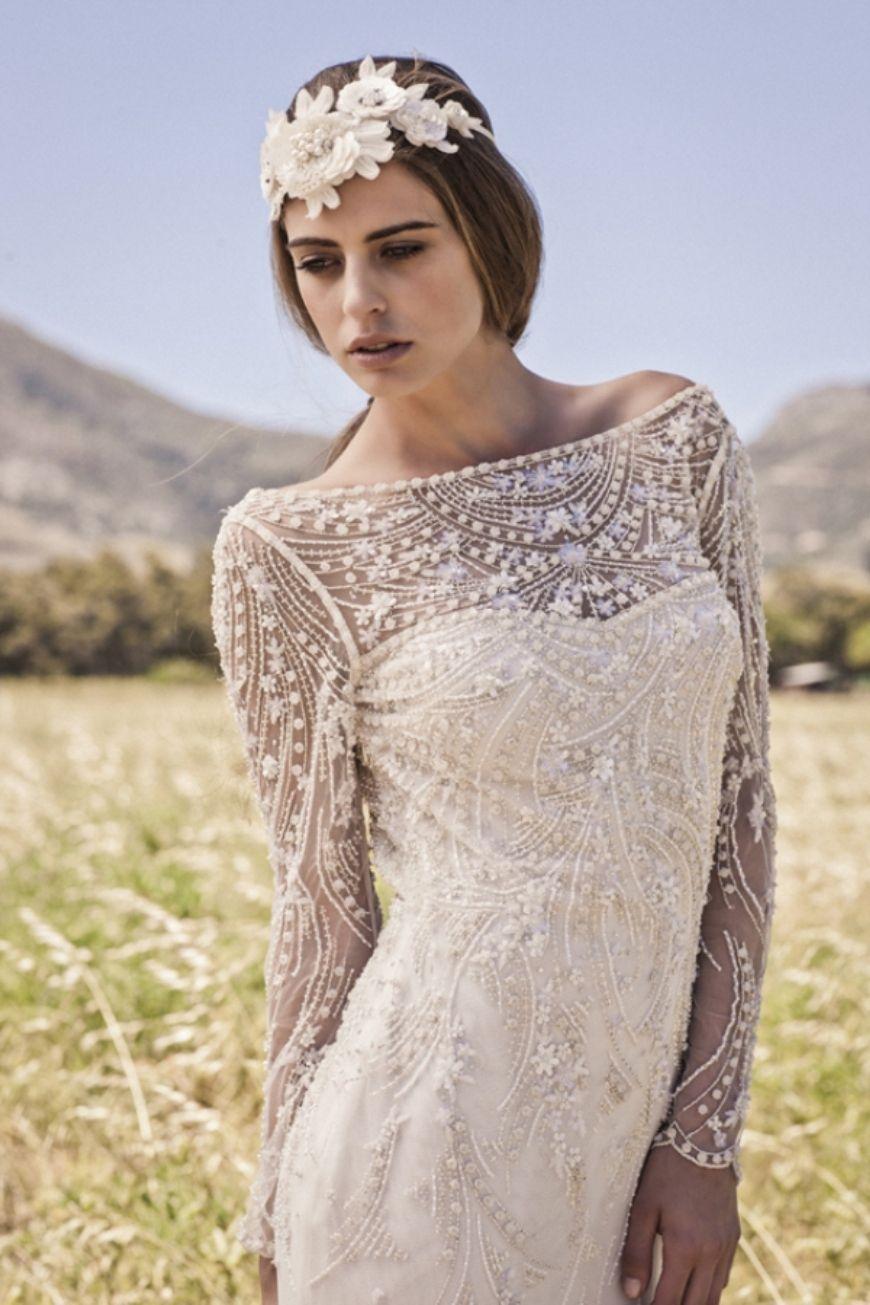 boho wedding dresses bohemian wedding dress Digital picture of lace bohemian style wedding dress close up view
